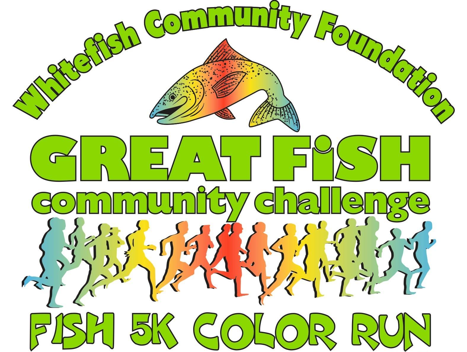 GreatFish5K Logo