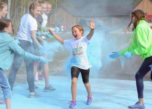 Great Fish Challenge 5K/10K Color Run and Celebration - Photo by Matt Baldwin - Whitefish Pilot
