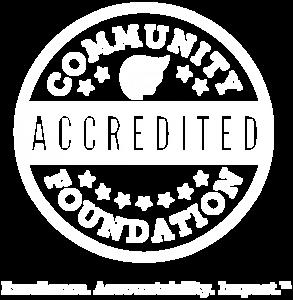 Community Foundation accredited white