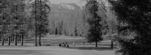Whitefish Lake Golf Course B&W