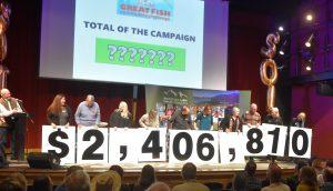 2018 Great Fish Community Challenge Money Raised